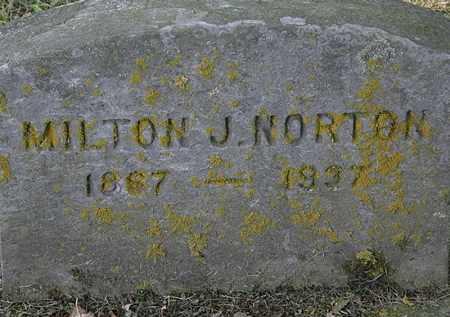 NORTON, MILTON J. - Erie County, Ohio | MILTON J. NORTON - Ohio Gravestone Photos