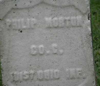 NORTON, PHILIP - Erie County, Ohio | PHILIP NORTON - Ohio Gravestone Photos