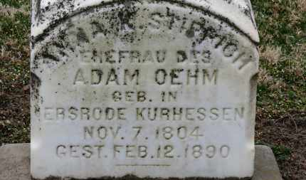 OEHM, ADAM - Erie County, Ohio | ADAM OEHM - Ohio Gravestone Photos