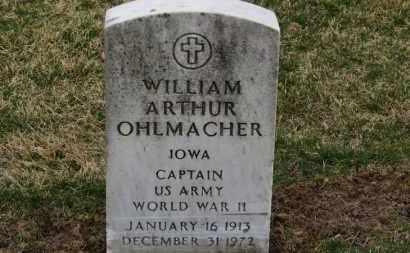 OHLMACHER, WILLIAM ARTHUR - Erie County, Ohio | WILLIAM ARTHUR OHLMACHER - Ohio Gravestone Photos