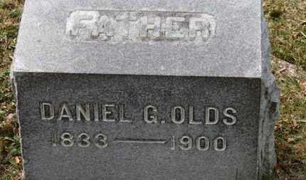 OLDS, DANIEL G. - Erie County, Ohio | DANIEL G. OLDS - Ohio Gravestone Photos