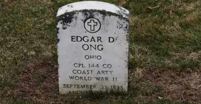 ONG, EDGAR D. - Erie County, Ohio | EDGAR D. ONG - Ohio Gravestone Photos