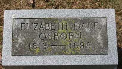 OSBORN, ELIZABETH DALE - Erie County, Ohio | ELIZABETH DALE OSBORN - Ohio Gravestone Photos