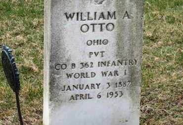 OTTO, WILLIAM A. - Erie County, Ohio | WILLIAM A. OTTO - Ohio Gravestone Photos