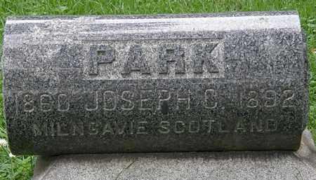 PARK, JOSEPH C - Erie County, Ohio | JOSEPH C PARK - Ohio Gravestone Photos
