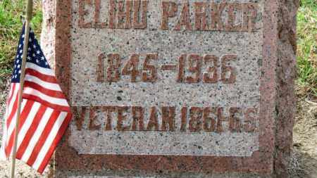 PARKER, ELIHU - Erie County, Ohio | ELIHU PARKER - Ohio Gravestone Photos