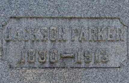 PARKER, JACKSON - Erie County, Ohio | JACKSON PARKER - Ohio Gravestone Photos