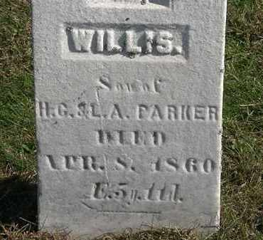 PARKER, WILLIS - Erie County, Ohio | WILLIS PARKER - Ohio Gravestone Photos