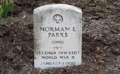 PARKS, NORMAN L. - Erie County, Ohio   NORMAN L. PARKS - Ohio Gravestone Photos