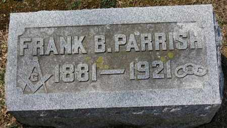 PARRISH, FRANK B. - Erie County, Ohio | FRANK B. PARRISH - Ohio Gravestone Photos