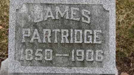 PARTRIDGE, JAMES - Erie County, Ohio | JAMES PARTRIDGE - Ohio Gravestone Photos