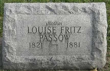 PASSOW, LOUISE FRITZ - Erie County, Ohio | LOUISE FRITZ PASSOW - Ohio Gravestone Photos