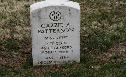 PATTERSON, CAZZIE A. - Erie County, Ohio | CAZZIE A. PATTERSON - Ohio Gravestone Photos