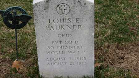 PAUKNER, LOUIS E. - Erie County, Ohio | LOUIS E. PAUKNER - Ohio Gravestone Photos