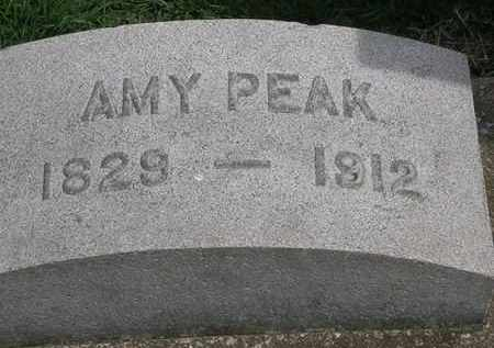 PEAK, AMY - Erie County, Ohio | AMY PEAK - Ohio Gravestone Photos