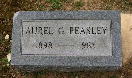 PEASLEY, AUREL G. - Erie County, Ohio | AUREL G. PEASLEY - Ohio Gravestone Photos