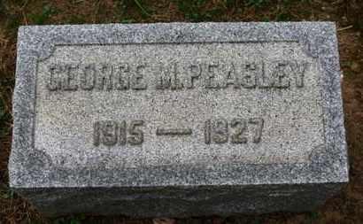 PEASLEY, GEORGE M. - Erie County, Ohio | GEORGE M. PEASLEY - Ohio Gravestone Photos