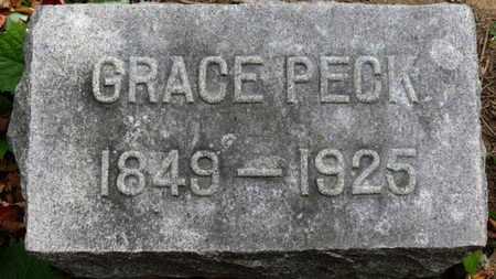 PECK, GRACE - Erie County, Ohio | GRACE PECK - Ohio Gravestone Photos