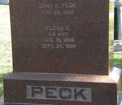 PECK, JOHN R. - Erie County, Ohio | JOHN R. PECK - Ohio Gravestone Photos
