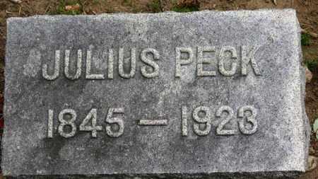 PECK, JULIUS - Erie County, Ohio | JULIUS PECK - Ohio Gravestone Photos