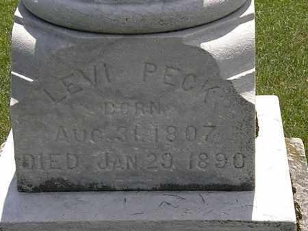 PECK, LEVI - Erie County, Ohio | LEVI PECK - Ohio Gravestone Photos
