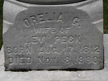 PECK, ORELIA G. - Erie County, Ohio | ORELIA G. PECK - Ohio Gravestone Photos
