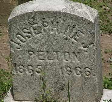 PELTON, JOSEPHINE - Erie County, Ohio | JOSEPHINE PELTON - Ohio Gravestone Photos
