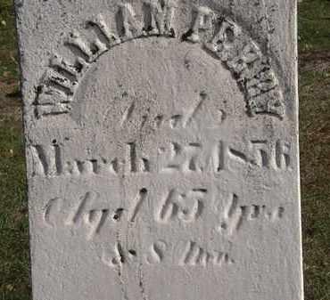 PERRY, WILLIAM - Erie County, Ohio | WILLIAM PERRY - Ohio Gravestone Photos
