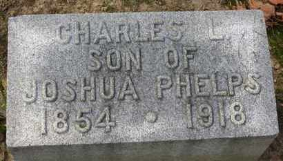 PHELPS, CHARLES L. - Erie County, Ohio | CHARLES L. PHELPS - Ohio Gravestone Photos