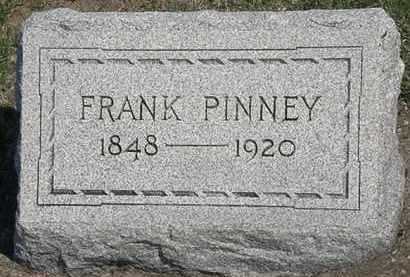 PINNEY, FRANK - Erie County, Ohio | FRANK PINNEY - Ohio Gravestone Photos