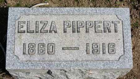 PIPPERT, ELIZA - Erie County, Ohio | ELIZA PIPPERT - Ohio Gravestone Photos