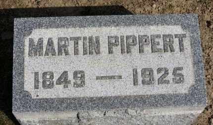PIPPERT, MARTIN - Erie County, Ohio | MARTIN PIPPERT - Ohio Gravestone Photos