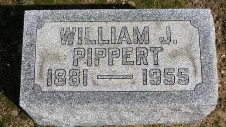 PIPPERT, WILLIAM J. - Erie County, Ohio | WILLIAM J. PIPPERT - Ohio Gravestone Photos