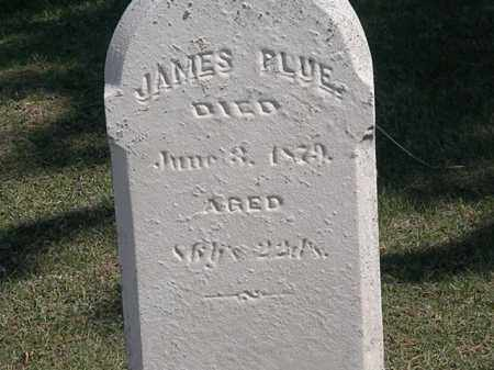 PLUE, JAMES - Erie County, Ohio | JAMES PLUE - Ohio Gravestone Photos
