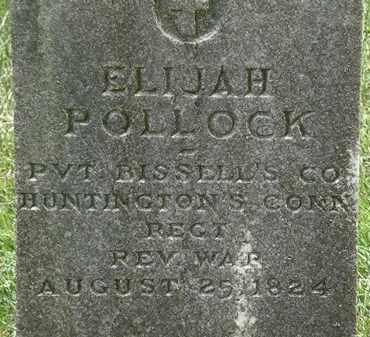 POLLOCK, ELIJAH - Erie County, Ohio | ELIJAH POLLOCK - Ohio Gravestone Photos
