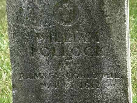 POLLOCK, WILLIAM - Erie County, Ohio | WILLIAM POLLOCK - Ohio Gravestone Photos