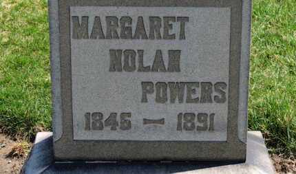 NOLAN POWERS, MARGARET - Erie County, Ohio | MARGARET NOLAN POWERS - Ohio Gravestone Photos