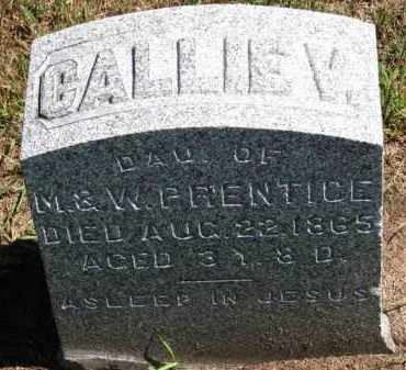 PRENTICE, CALLIE V. - Erie County, Ohio | CALLIE V. PRENTICE - Ohio Gravestone Photos