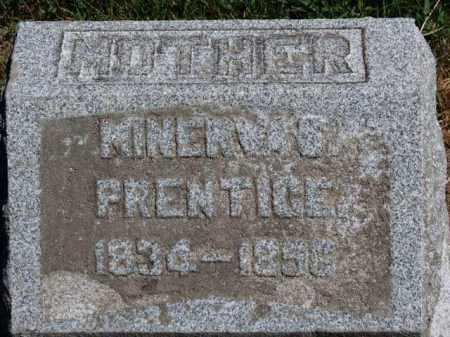 PRENTICE, MINERVA S. - Erie County, Ohio | MINERVA S. PRENTICE - Ohio Gravestone Photos