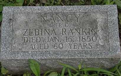 RANKIN, NANCY - Erie County, Ohio | NANCY RANKIN - Ohio Gravestone Photos