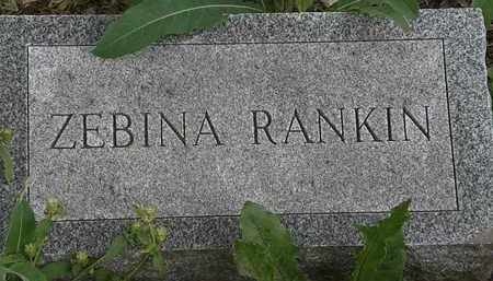 RANKIN, ZEBINA - Erie County, Ohio | ZEBINA RANKIN - Ohio Gravestone Photos