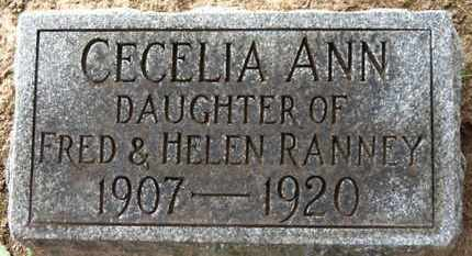 RANNEY, HELEN - Erie County, Ohio | HELEN RANNEY - Ohio Gravestone Photos