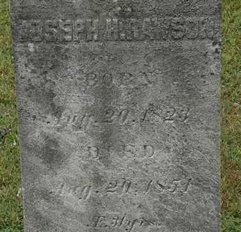 RAWSON, JOSEPH H. - Erie County, Ohio | JOSEPH H. RAWSON - Ohio Gravestone Photos