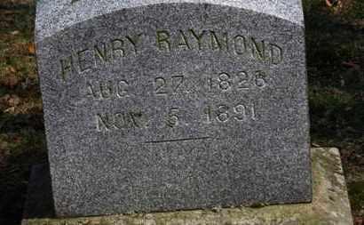 RAYMOND, HENRY - Erie County, Ohio | HENRY RAYMOND - Ohio Gravestone Photos