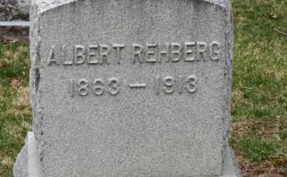 REHBERG, ALBERT - Erie County, Ohio | ALBERT REHBERG - Ohio Gravestone Photos