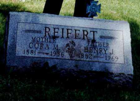 REIFERT, CORA M - Erie County, Ohio | CORA M REIFERT - Ohio Gravestone Photos