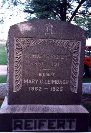 LEIMBACH REIFERT, MARY C - Erie County, Ohio | MARY C LEIMBACH REIFERT - Ohio Gravestone Photos