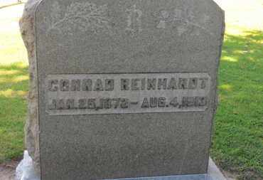 REINHARDT, CONRAD - Erie County, Ohio | CONRAD REINHARDT - Ohio Gravestone Photos