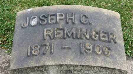 REMINGER, JOSEPH C. - Erie County, Ohio | JOSEPH C. REMINGER - Ohio Gravestone Photos