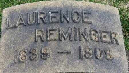 REMINGER, LAURENCE - Erie County, Ohio | LAURENCE REMINGER - Ohio Gravestone Photos